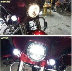 Ultra Bright LED Headlight – H4