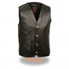 Men's Classic Vest w/ Buffalo Nickel Snaps