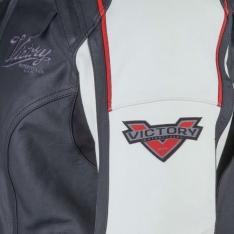 Victory Motorcycles Ladies Cascade Leather Jacket Size: Small