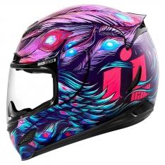 Icon Airmada Opacity Purple Helmet