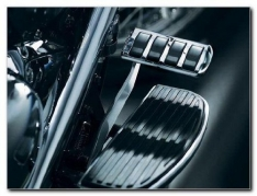 Kuryakyn Chrome Brake Pedal Cover #8850  for Kawasaki Vulcan 1500/1600