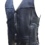 Leather 8 Pocket Vest