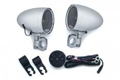 Kuryakyn Road Thunder Speaker Pods & amp – Bluetooth Audio Controller