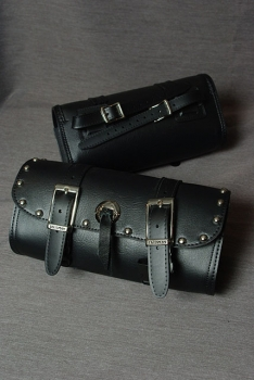 Talisman Leather S205 Large Tool Pouch with Studs and Conchos