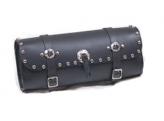 Talisman Leather S209 Wide Glide Tool Pouch with Studs and Conchos