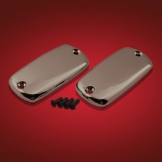 Show Chrome Smoke Master Cylinder Covers