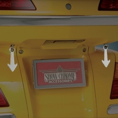 Show Chrome Cruise Wing Helmet Lock Extension