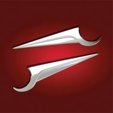 Show Chrome Side Fairing Emblem Accent – Honda Goldwing GL1800 (2012 and Newer)