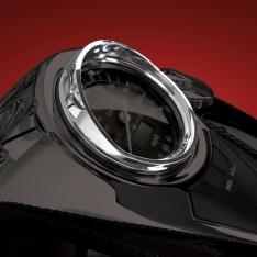 Show Chrome Speedo Visor for 750 Aero / Intruder 800 / C50