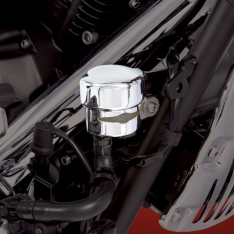 Show Chrome Rear Brake Reservoir Cover