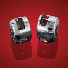 Show Chrome Switch Box Housing – Suzuki C50 (07 to 11), C109 (08 to 11)