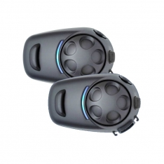 Sena – SPH10H-FM – Dual Pack Bluetooth Headset for Half Helmets