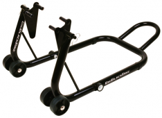 Oxford Big Black Bike Stand – FRONT AND REAR SET