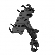 RAM® Quick-Grip™ Phone Mount with Handlebar U-Bolt Base