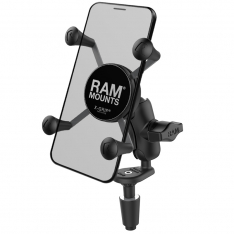 RAM® X-Grip® Phone Holder with Motorcycle Fork Stem Base