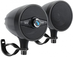 "LEXIN LX-S3 3"" WATERPROOF MOTORCYCLE AUDIO SYSTEMS – BLACK"