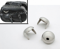 Universal Chrome Seat Studs/Buttons