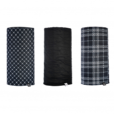 Oxford Comfy 3 Pack – Black & White Tartan