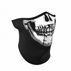 3 Panel Half Mask – Skull